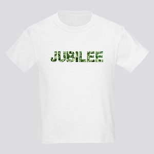 Jubilee, Vintage Camo, Kids Light T-Shirt