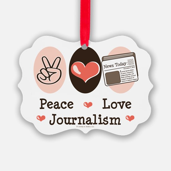 Cool News media Ornament
