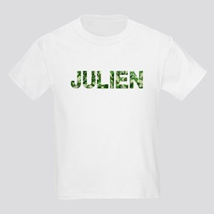 Julien, Vintage Camo, Kids Light T-Shirt