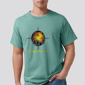 TransparentFiresight cop Mens Comfort Colors Shirt