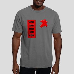 2-redonyoublack Mens Comfort Colors Shirt