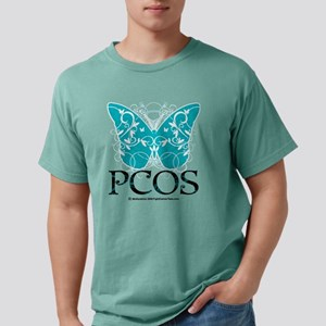 PCOS-Butterfly Mens Comfort Colors Shirt