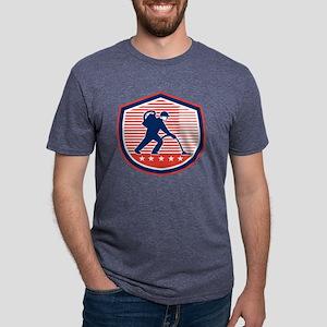 Cleaner Janitor Vacuum Clea Mens Tri-blend T-Shirt