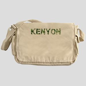Kenyon, Vintage Camo, Messenger Bag