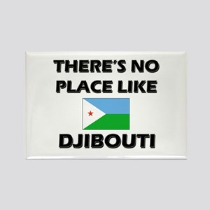 There Is No Place Like Djibouti Rectangle Magnet