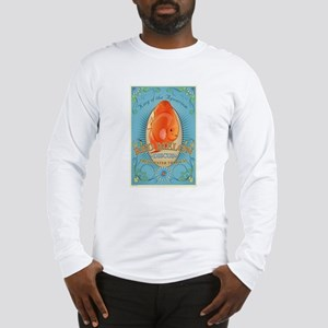 Red Melon Discus Long Sleeve T-Shirt