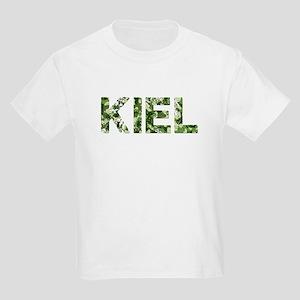 Kiel, Vintage Camo, Kids Light T-Shirt