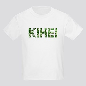 Kihei, Vintage Camo, Kids Light T-Shirt