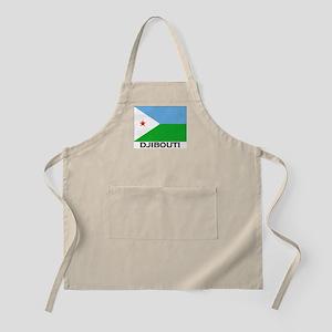 Djibouti Flag Merchandise BBQ Apron
