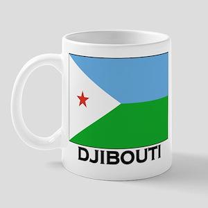 Djibouti Flag Merchandise Mug