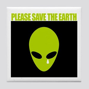 Tile Coaster - Save the earth