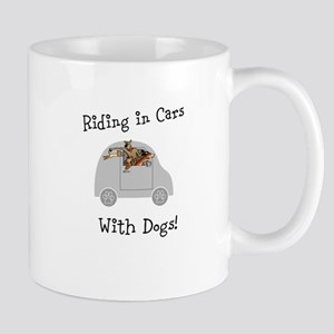 Traveling with dogs Mug