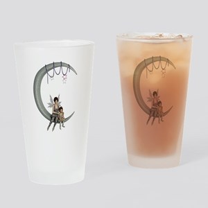 Swing on the moon Drinking Glass
