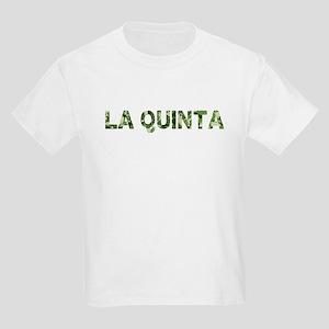 La Quinta, Vintage Camo, Kids Light T-Shirt