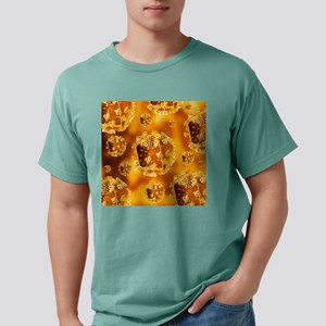 HIV virus particles, art Mens Comfort Colors Shirt