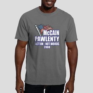 VP-NEW-FLAG-BLUE OUTLINE Mens Comfort Colors Shirt