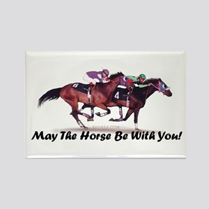May The Horse Be With You Rectangle Magnet