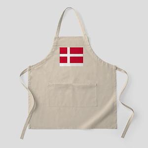 Denmark Flag Picture BBQ Apron