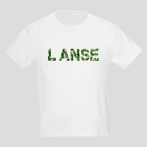 LAnse, Vintage Camo, Kids Light T-Shirt