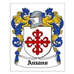Anzano Coat of Arms Small Poster