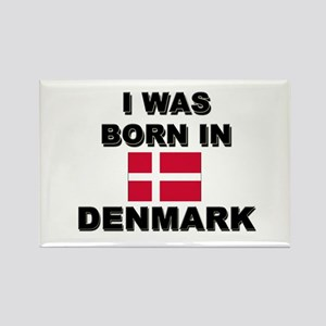I Was Born In Denmark Rectangle Magnet