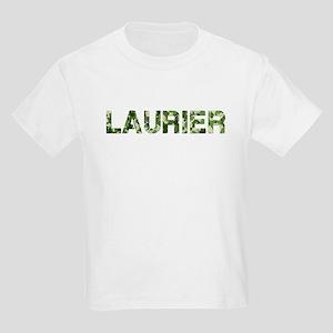 Laurier, Vintage Camo, Kids Light T-Shirt