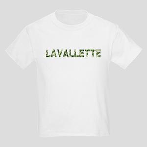 Lavallette, Vintage Camo, Kids Light T-Shirt