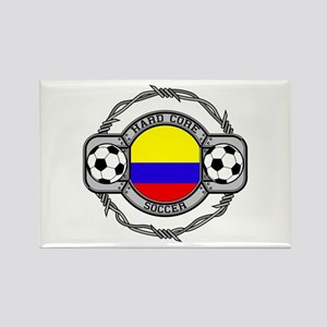 Colombia Soccer Rectangle Magnet