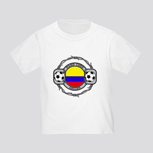 Colombia Soccer Toddler T-Shirt