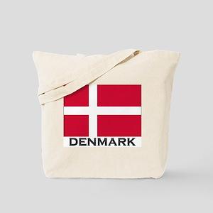 Denmark Flag Gear Tote Bag