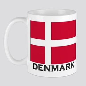 Denmark Flag Gear Mug