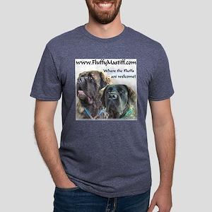 FluffsTShirt2 Mens Tri-blend T-Shirt