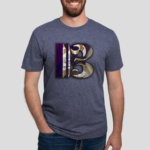 RoyalAltoClefTran3 Mens Tri-blend T-Shirt