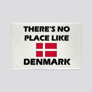 There Is No Place Like Denmark Rectangle Magnet