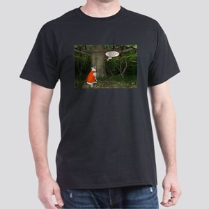 Deer Stand Dog Hunting Dark T-Shirt