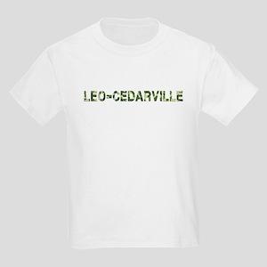 Leo-Cedarville, Vintage Camo, Kids Light T-Shirt