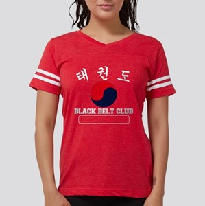 TKD Black Belt Club - White  Womens Football Shirt