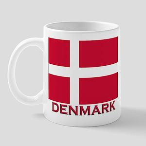 Denmark Flag Merchandise Mug