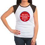 Preserve Freedom Women's Cap Sleeve T-Shirt