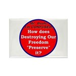 Preserve Freedom Rectangle Magnet (100 pack)