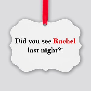 Rachel Fan Picture Ornament