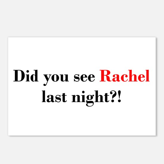 Rachel Fan Postcards (Package of 8)