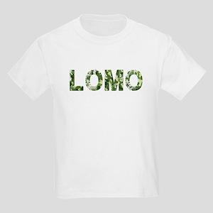 Lomo, Vintage Camo, Kids Light T-Shirt