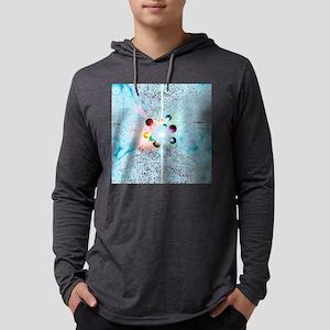 Quantum universe Mens Hooded Shirt
