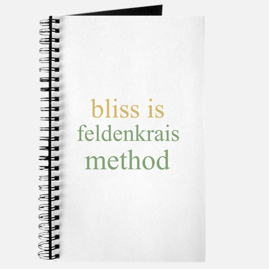 bliss is FELDENKRAIS METHOD Journal