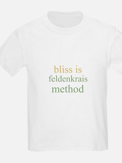 bliss is FELDENKRAIS METHOD  Kids T-Shirt
