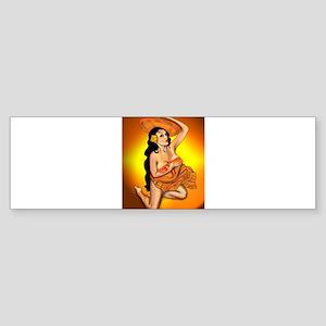 Tequila Sunrise Pin-up Sticker (Bumper)