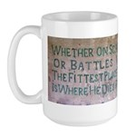 WW II Verse Large Mug