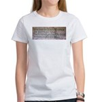WW II Verse Women's T-Shirt