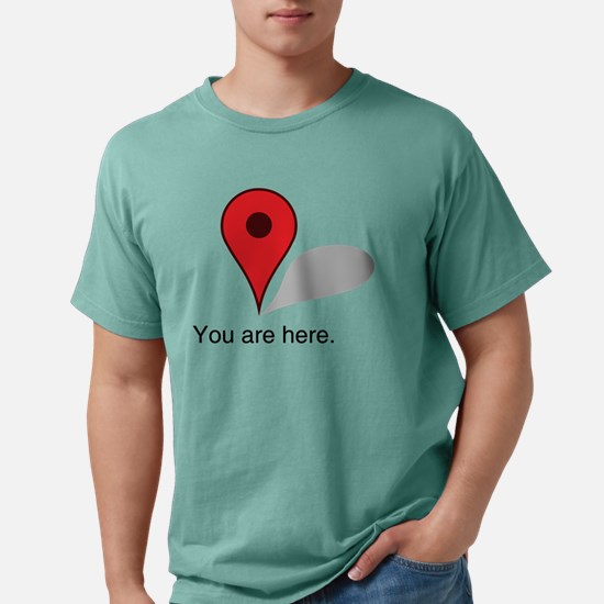 you are here. Mens Comfort Colors Shirt